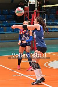 """Under14 «Roma Volley Group - Cortona Volley AR» - 8º Memorial """"Tomasso Sulpizi"""" • 10º Trofeo Nazionale Volley U14 & U16 Femminile IT, 28 dicembre 2018 - Foto: Michele Benda per VolleyFoto.it [Riferimento file: 2018-12-28/NZ6_4772]"""