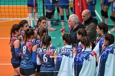 """Under14 «Roma Volley Group - Cortona Volley AR» - 8º Memorial """"Tomasso Sulpizi"""" • 10º Trofeo Nazionale Volley U14 & U16 Femminile IT, 28 dicembre 2018 - Foto: Michele Benda per VolleyFoto.it [Riferimento file: 2018-12-28/NZ6_4799]"""