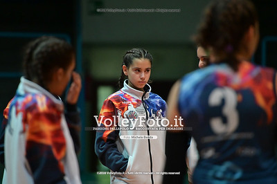 "Under14 «Roma Volley Group - Cortona Volley AR» - 8º Memorial ""Tomasso Sulpizi"" • 10º Trofeo Nazionale Volley U14 & U16 Femminile IT, 28 dicembre 2018 - Foto: Michele Benda per VolleyFoto.it [Riferimento file: 2018-12-28/NZ6_4685]"