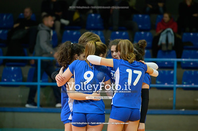 "Under14 «Roma Volley Group - Cortona Volley AR» - 8º Memorial ""Tomasso Sulpizi"" • 10º Trofeo Nazionale Volley U14 & U16 Femminile IT, 28 dicembre 2018 - Foto: Michele Benda per VolleyFoto.it [Riferimento file: 2018-12-28/NZ6_4744]"