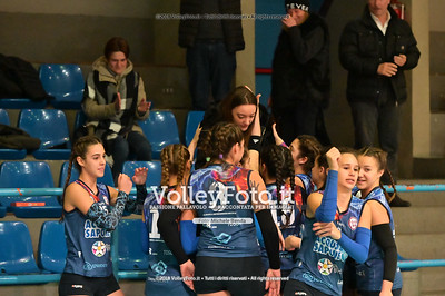 "Under14 «Roma Volley Group - Cortona Volley AR» - 8º Memorial ""Tomasso Sulpizi"" • 10º Trofeo Nazionale Volley U14 & U16 Femminile IT, 28 dicembre 2018 - Foto: Michele Benda per VolleyFoto.it [Riferimento file: 2018-12-28/NZ6_4724]"