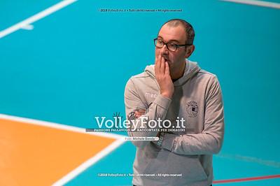 """Under14 «Roma Volley Group - Cortona Volley AR» - 8º Memorial """"Tomasso Sulpizi"""" • 10º Trofeo Nazionale Volley U14 & U16 Femminile IT, 28 dicembre 2018 - Foto: Michele Benda per VolleyFoto.it [Riferimento file: 2018-12-28/NZ6_4838]"""