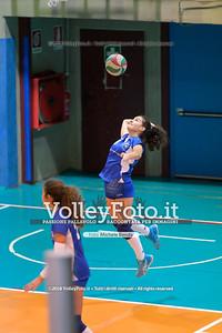 """Under14 «Roma Volley Group - Cortona Volley AR» - 8º Memorial """"Tomasso Sulpizi"""" • 10º Trofeo Nazionale Volley U14 & U16 Femminile IT, 28 dicembre 2018 - Foto: Michele Benda per VolleyFoto.it [Riferimento file: 2018-12-28/NZ6_4806]"""