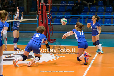"Under14 «Roma Volley Group - Cortona Volley AR» - 8º Memorial ""Tomasso Sulpizi"" • 10º Trofeo Nazionale Volley U14 & U16 Femminile IT, 28 dicembre 2018 - Foto: Michele Benda per VolleyFoto.it [Riferimento file: 2018-12-28/NZ6_4747]"