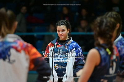 "Under14 «Roma Volley Group - Cortona Volley AR» - 8º Memorial ""Tomasso Sulpizi"" • 10º Trofeo Nazionale Volley U14 & U16 Femminile IT, 28 dicembre 2018 - Foto: Michele Benda per VolleyFoto.it [Riferimento file: 2018-12-28/NZ6_4686]"