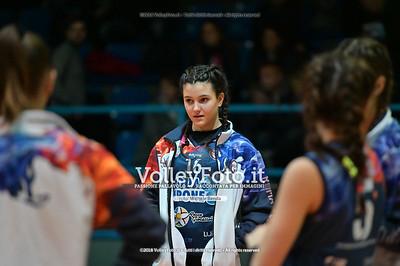 """Under14 «Roma Volley Group - Cortona Volley AR» - 8º Memorial """"Tomasso Sulpizi"""" • 10º Trofeo Nazionale Volley U14 & U16 Femminile IT, 28 dicembre 2018 - Foto: Michele Benda per VolleyFoto.it [Riferimento file: 2018-12-28/NZ6_4686]"""