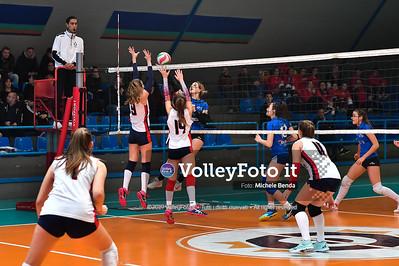 """11º Torneo Volley U14 & U16 Femminile """"Città di Bastia"""" Memorial Sulpizi presso Palasport Spello Bastia Umbra IT, 28 dicembre 2019. Foto: Michele Benda [riferimento file: 2019-12-28/ND5_5598]"""