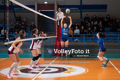 """11º Torneo Volley U14 & U16 Femminile """"Città di Bastia"""" Memorial Sulpizi presso Palasport Spello Bastia Umbra IT, 28 dicembre 2019. Foto: Michele Benda [riferimento file: 2019-12-28/ND5_5580]"""