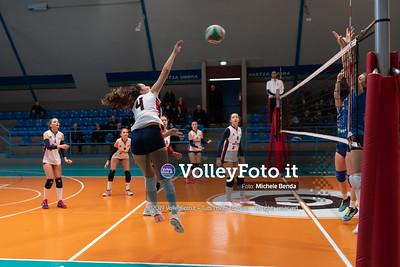 """11º Torneo Volley U14 & U16 Femminile """"Città di Bastia"""" Memorial Sulpizi presso Palasport Spello Bastia Umbra IT, 28 dicembre 2019. Foto: Michele Benda [riferimento file: 2019-12-28/ND5_5569]"""