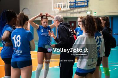 """11º Torneo Volley U14 & U16 Femminile """"Città di Bastia"""" Memorial Sulpizi presso Palasport Spello Bastia Umbra IT, 28 dicembre 2019. Foto: Michele Benda [riferimento file: 2019-12-28/ND5_5575]"""