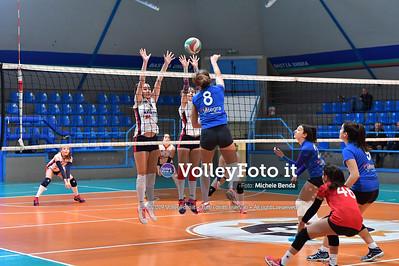 """11º Torneo Volley U14 & U16 Femminile """"Città di Bastia"""" Memorial Sulpizi presso Palasport Spello Bastia Umbra IT, 28 dicembre 2019. Foto: Michele Benda [riferimento file: 2019-12-28/ND5_5586]"""