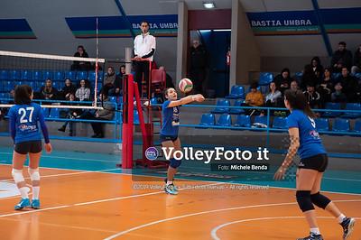 """11º Torneo Volley U14 & U16 Femminile """"Città di Bastia"""" Memorial Sulpizi presso Palasport Spello Bastia Umbra IT, 28 dicembre 2019. Foto: Michele Benda [riferimento file: 2019-12-28/ND5_5584]"""