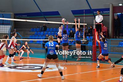 """11º Torneo Volley U14 & U16 Femminile """"Città di Bastia"""" Memorial Sulpizi presso Palasport Spello Bastia Umbra IT, 28 dicembre 2019. Foto: Michele Benda [riferimento file: 2019-12-28/ND5_5593]"""