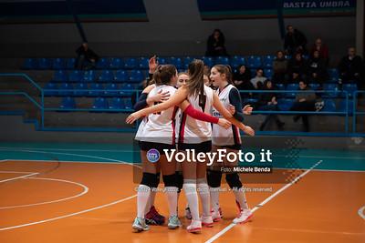"""11º Torneo Volley U14 & U16 Femminile """"Città di Bastia"""" Memorial Sulpizi presso Palasport Spello Bastia Umbra IT, 28 dicembre 2019. Foto: Michele Benda [riferimento file: 2019-12-28/ND5_5571]"""