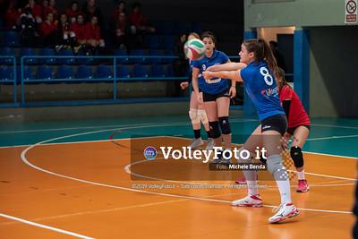 """11º Torneo Volley U14 & U16 Femminile """"Città di Bastia"""" Memorial Sulpizi presso Palasport Spello Bastia Umbra IT, 28 dicembre 2019. Foto: Michele Benda [riferimento file: 2019-12-28/ND5_5572]"""