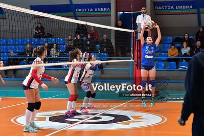 """11º Torneo Volley U14 & U16 Femminile """"Città di Bastia"""" Memorial Sulpizi presso Palasport Spello Bastia Umbra IT, 28 dicembre 2019. Foto: Michele Benda [riferimento file: 2019-12-28/ND5_5594]"""