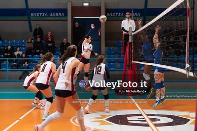 """11º Torneo Volley U14 & U16 Femminile """"Città di Bastia"""" Memorial Sulpizi presso Palasport Spello Bastia Umbra IT, 28 dicembre 2019. Foto: Michele Benda [riferimento file: 2019-12-28/ND5_5568]"""