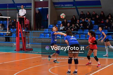 """11º Torneo Volley U14 & U16 Femminile """"Città di Bastia"""" Memorial Sulpizi presso Palasport Spello Bastia Umbra IT, 28 dicembre 2019. Foto: Michele Benda [riferimento file: 2019-12-28/ND5_5591]"""