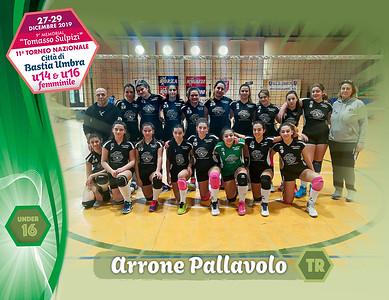 28 dicembre 2019. Foto: [riferimento file: 2019-12-28/U16-Arrone-Pallavolo-TR]