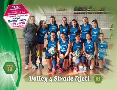 28 dicembre 2019. Foto: [riferimento file: 2019-12-28/U16-Volley4Strade]
