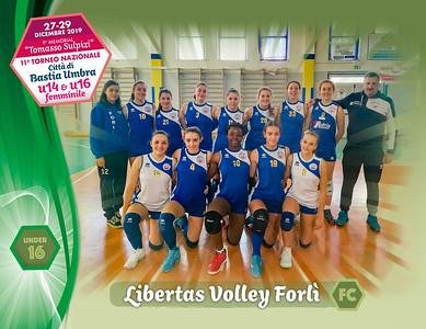 28 dicembre 2019. Foto: [riferimento file: 2019-12-28/U16-Libertas Volley Forlì FC]