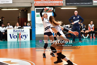 "11º Torneo Volley U14 & U16 Femminile ""Città di Bastia"" Memorial Sulpizi presso PalaGiontella Bastia Umbra IT, 29 dicembre 2019. Foto: Michele Benda [riferimento file: 2019-12-29/ND5_7092]"