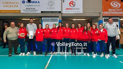 "11º Torneo Volley U14 & U16 Femminile ""Città di Bastia"" Memorial Sulpizi presso PalaGiontella Bastia Umbra IT, 29 dicembre 2019. Foto: Michele Benda [riferimento file: 2019-12-29/ND5_8268]"