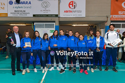 "11º Torneo Volley U14 & U16 Femminile ""Città di Bastia"" Memorial Sulpizi presso PalaGiontella Bastia Umbra IT, 29 dicembre 2019. Foto: Michele Benda [riferimento file: 2019-12-29/ND5_8260]"