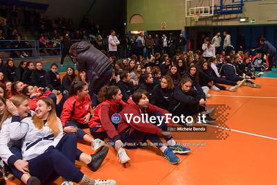 "11º Torneo Volley U14 & U16 Femminile ""Città di Bastia"" Memorial Sulpizi presso PalaGiontella Bastia Umbra IT, 29 dicembre 2019. Foto: Michele Benda [riferimento file: 2019-12-29/ND5_8234]"