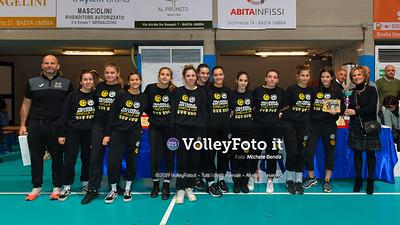 "11º Torneo Volley U14 & U16 Femminile ""Città di Bastia"" Memorial Sulpizi presso PalaGiontella Bastia Umbra IT, 29 dicembre 2019. Foto: Michele Benda [riferimento file: 2019-12-29/ND5_8270]"