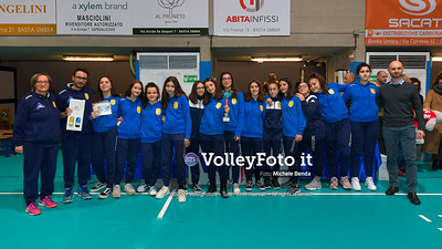 "11º Torneo Volley U14 & U16 Femminile ""Città di Bastia"" Memorial Sulpizi presso PalaGiontella Bastia Umbra IT, 29 dicembre 2019. Foto: Michele Benda [riferimento file: 2019-12-29/ND5_8274]"