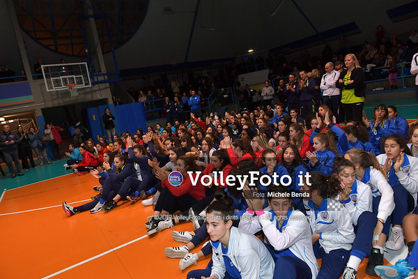 "11º Torneo Volley U14 & U16 Femminile ""Città di Bastia"" Memorial Sulpizi presso PalaGiontella Bastia Umbra IT, 29 dicembre 2019. Foto: Michele Benda [riferimento file: 2019-12-29/ND5_8248]"