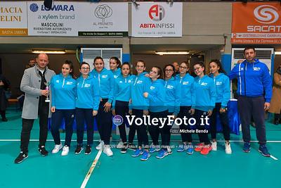 "11º Torneo Volley U14 & U16 Femminile ""Città di Bastia"" Memorial Sulpizi presso PalaGiontella Bastia Umbra IT, 29 dicembre 2019. Foto: Michele Benda [riferimento file: 2019-12-29/ND5_8265]"