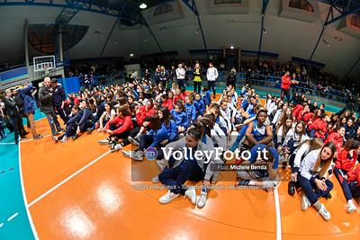 "11º Torneo Volley U14 & U16 Femminile ""Città di Bastia"" Memorial Sulpizi presso PalaGiontella Bastia Umbra IT, 29 dicembre 2019. Foto: Michele Benda [riferimento file: 2019-12-29/_NZ60902]"