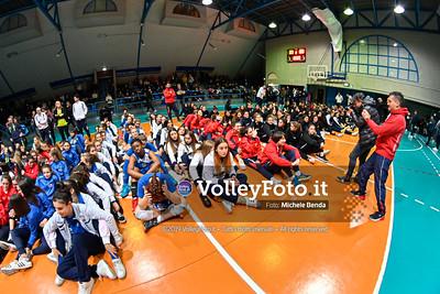 "11º Torneo Volley U14 & U16 Femminile ""Città di Bastia"" Memorial Sulpizi presso PalaGiontella Bastia Umbra IT, 29 dicembre 2019. Foto: Michele Benda [riferimento file: 2019-12-29/_NZ60905]"