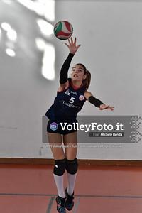 """11º Torneo Volley U14 & U16 Femminile """"Città di Bastia"""" Memorial Sulpizi presso Palestra Santa Maria degli Angeli IT, 28 dicembre 2019. Foto: Michele Benda [riferimento file: 2019-12-28/ND5_5743]"""