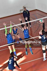 """11º Torneo Volley U14 & U16 Femminile """"Città di Bastia"""" Memorial Sulpizi presso Palestra Santa Maria degli Angeli IT, 28 dicembre 2019. Foto: Michele Benda [riferimento file: 2019-12-28/ND5_5988]"""