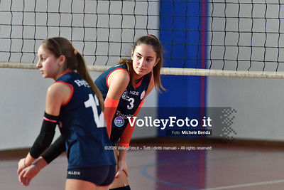 """11º Torneo Volley U14 & U16 Femminile """"Città di Bastia"""" Memorial Sulpizi presso Palestra Santa Maria degli Angeli IT, 28 dicembre 2019. Foto: Michele Benda [riferimento file: 2019-12-28/ND5_6002]"""