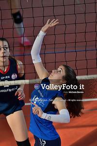 """11º Torneo Volley U14 & U16 Femminile """"Città di Bastia"""" Memorial Sulpizi presso Palestra Santa Maria degli Angeli IT, 28 dicembre 2019. Foto: Michele Benda [riferimento file: 2019-12-28/ND5_5676]"""
