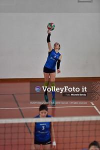 """11º Torneo Volley U14 & U16 Femminile """"Città di Bastia"""" Memorial Sulpizi presso Palestra Santa Maria degli Angeli IT, 28 dicembre 2019. Foto: Michele Benda [riferimento file: 2019-12-28/ND5_5915]"""