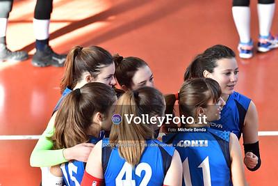 """11º Torneo Volley U14 & U16 Femminile """"Città di Bastia"""" Memorial Sulpizi presso Palestra Santa Maria degli Angeli IT, 28 dicembre 2019. Foto: Michele Benda [riferimento file: 2019-12-28/ND5_5643]"""