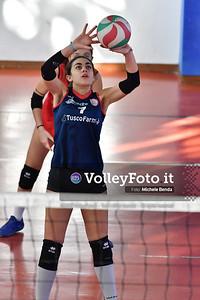 """11º Torneo Volley U14 & U16 Femminile """"Città di Bastia"""" Memorial Sulpizi presso Palestra Santa Maria degli Angeli IT, 28 dicembre 2019. Foto: Michele Benda [riferimento file: 2019-12-28/ND5_5647]"""