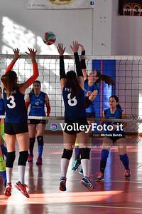 """11º Torneo Volley U14 & U16 Femminile """"Città di Bastia"""" Memorial Sulpizi presso Palestra Santa Maria degli Angeli IT, 28 dicembre 2019. Foto: Michele Benda [riferimento file: 2019-12-28/ND5_5994]"""