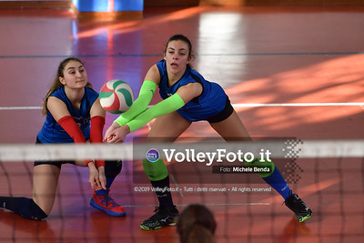 """11º Torneo Volley U14 & U16 Femminile """"Città di Bastia"""" Memorial Sulpizi presso Palestra Santa Maria degli Angeli IT, 28 dicembre 2019. Foto: Michele Benda [riferimento file: 2019-12-28/ND5_5869]"""