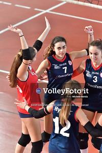 """11º Torneo Volley U14 & U16 Femminile """"Città di Bastia"""" Memorial Sulpizi presso Palestra Santa Maria degli Angeli IT, 28 dicembre 2019. Foto: Michele Benda [riferimento file: 2019-12-28/ND5_5933]"""
