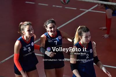 """11º Torneo Volley U14 & U16 Femminile """"Città di Bastia"""" Memorial Sulpizi presso Palestra Santa Maria degli Angeli IT, 28 dicembre 2019. Foto: Michele Benda [riferimento file: 2019-12-28/ND5_5953]"""