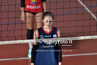 """11º Torneo Volley U14 & U16 Femminile """"Città di Bastia"""" Memorial Sulpizi presso Palestra Santa Maria degli Angeli IT, 28 dicembre 2019. Foto: Michele Benda [riferimento file: 2019-12-28/ND5_5669]"""