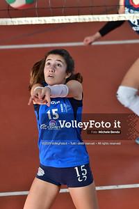 """11º Torneo Volley U14 & U16 Femminile """"Città di Bastia"""" Memorial Sulpizi presso Palestra Santa Maria degli Angeli IT, 28 dicembre 2019. Foto: Michele Benda [riferimento file: 2019-12-28/ND5_5713]"""