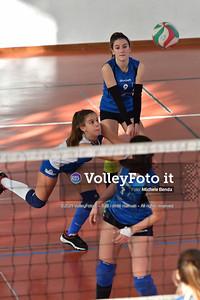 """11º Torneo Volley U14 & U16 Femminile """"Città di Bastia"""" Memorial Sulpizi presso Palestra Santa Maria degli Angeli IT, 28 dicembre 2019. Foto: Michele Benda [riferimento file: 2019-12-28/ND5_5963]"""