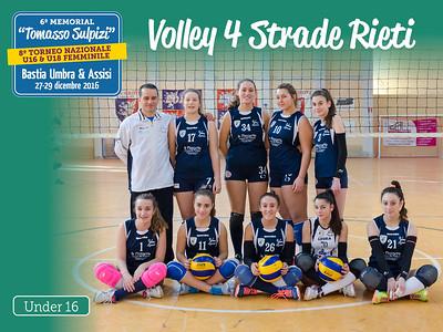 Volley 4 Strade Rieti [Under 16]